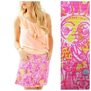 Lilly Pulitzer 00 Pink Pout January Skort